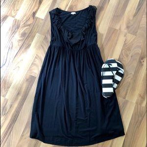 SOMA black super soft dress/cover-up like new!